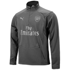 [해외][Order] 18-19 Arsenal Training Fleece Top -  Iron Gate