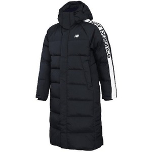 New Balance UNI Change Long Down Jacket - Black