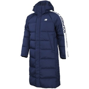 New Balance UNI Change Long Down Jacket - Navy