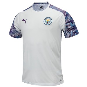 19-20 Manchester City Training Jersey - White