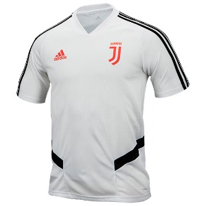19-20 Juventus Training Jersey - White