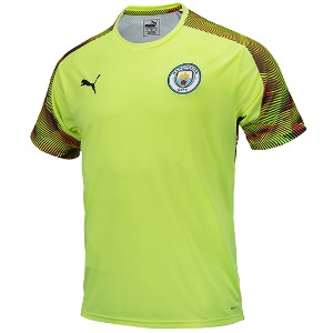 19-20 Manchester City Training Jersey - Yellow