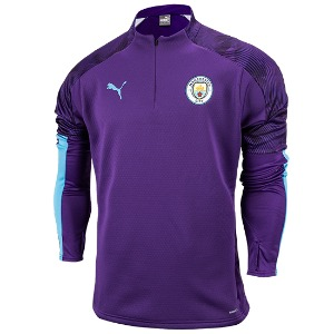 [해외][Order] 19-20 Manchester City Training Fleece Top - Tillandsia Purple