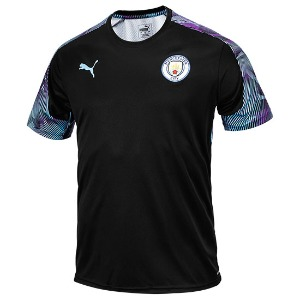 19-20 Manchester City Training Jersey - Black