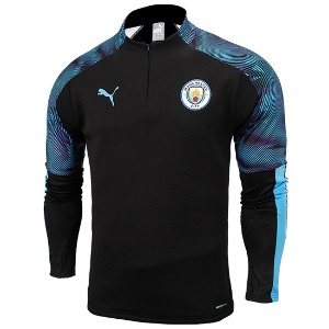[해외][Order] 19-20 Manchester City Training Fleece Top - Puma Black
