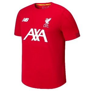 [해외][Order] 19-20 Liverpool On Pitch Jersey - Team Red