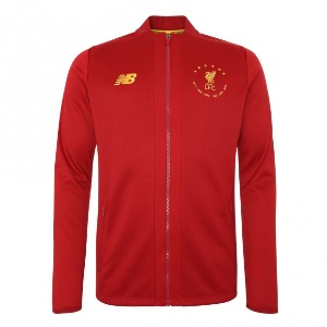 [해외][Order] 19-20 Liverpool 6 Times Signature Collection Euro Game Jacket - Red Pepper