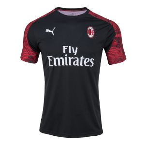 19-20 AC Milan Training Jersey - Black
