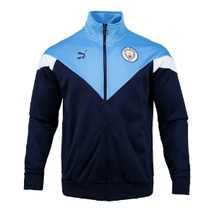19-20 Manchester City ICONIC MCS Track Jacket - Navy