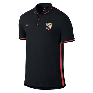 [해외][Order] 15-16 Atletico(AT) Madrid Authentic Polo - Black
