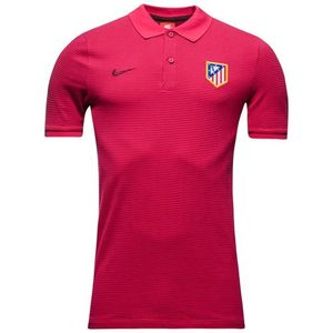 [해외][Order] 16-17 Atletico(AT) Madrid Authentic Polo - Fuchsia Flux/Night Maroon